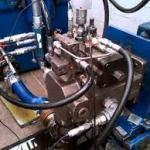 Manutenção de bombas hidráulicas